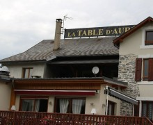 Hôtel - restaurant La Table d'Auré